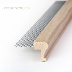 Nez de marche Hêtre (120cm-180cm) 24x32mm avec grille