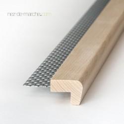 Nez de marche Hêtre (20cm-90cm) 32x24mm avec grille