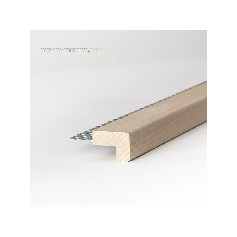 nez de marche bois 32x24mm pour escalier neuf ou en r novation de sol ancien. Black Bedroom Furniture Sets. Home Design Ideas