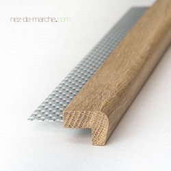 Nez de marche Chêne (20cm-90cm) 32x24mm avec grille
