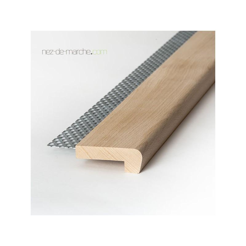 profil bois massif pour marche d 39 escalier carrel. Black Bedroom Furniture Sets. Home Design Ideas