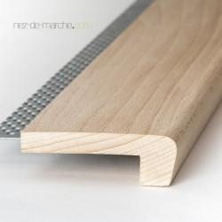 Nez de marche Hêtre (120cm-180cm) 85x28mm avec grille