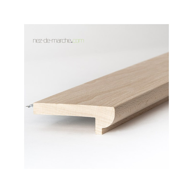 Nez de marche pour escalier large bois massif for Marche pour escalier bois