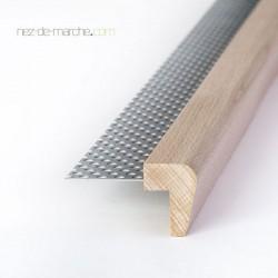 Nez de marche Hêtre 24x32mm avec grille (classique)