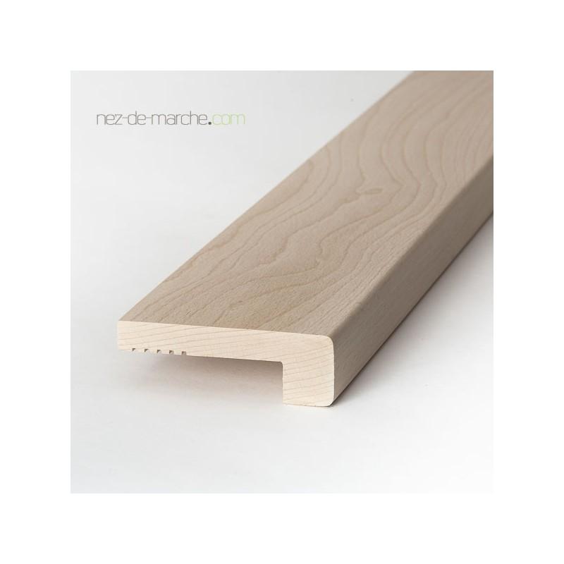 nez de marche pour escalier en hetre coller. Black Bedroom Furniture Sets. Home Design Ideas