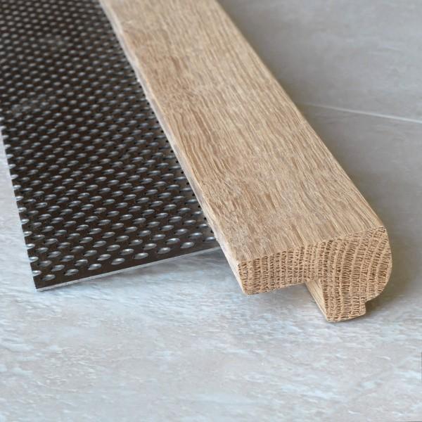 Profil bois pour escalier for Nez de marche carrelage