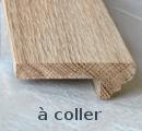 Nez de marche en bois 85x28mm sans grille Style